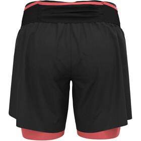 """Odlo Axalp Trail 6 """"2-i-1 shorts Damer, sort"""